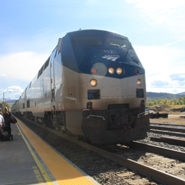 California Zephyr at Granby Station