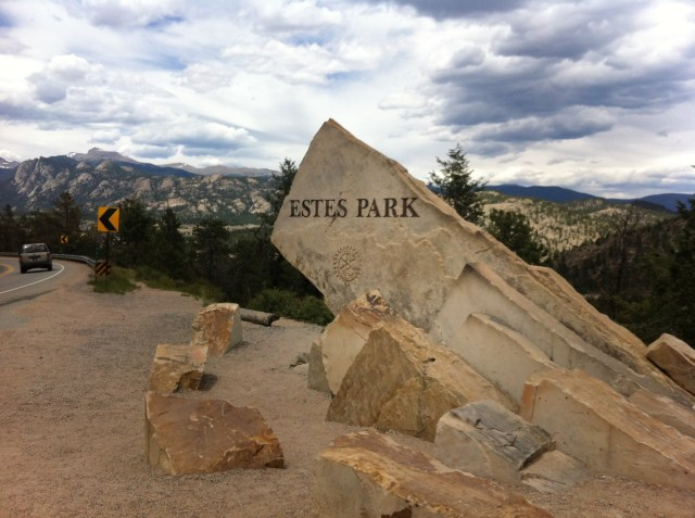 Estes Park - Welcome Sign