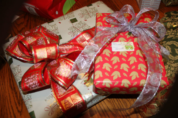 Christmas Gifts at the Burgoyne House