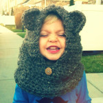 Child's Hooded Cowl by Homemade Hippie