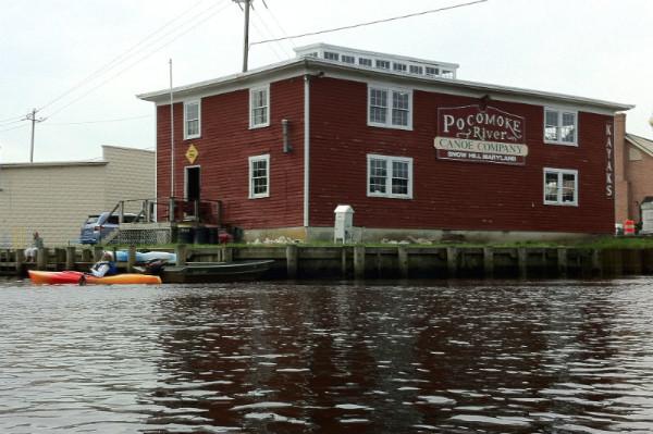 pocomoke river canoe company