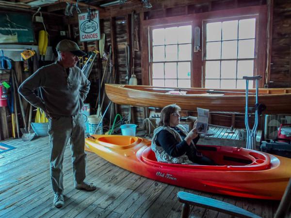 Pocomoke River Canoe Company inside