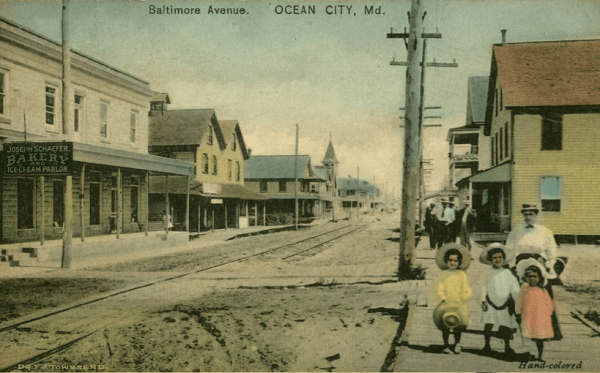Baltimore Avenue - Ocean City Maryland