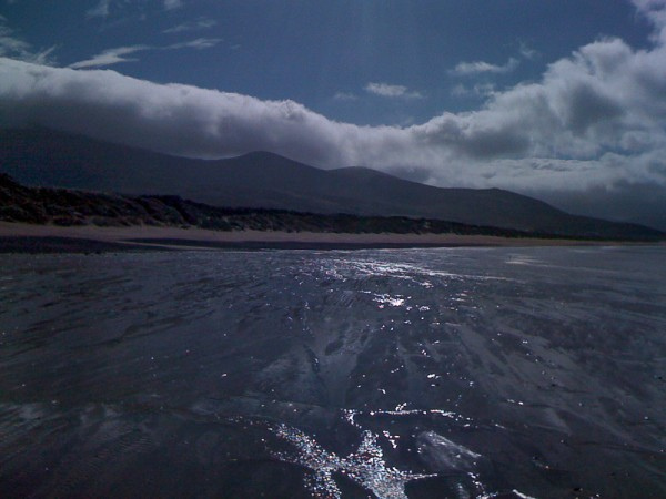 Fermoyle Strand in the shadow of Mt. Brandon