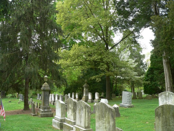St. Paul's Graveyard in Chestertown