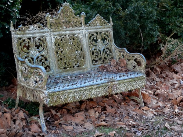 Teackle Mansion bench