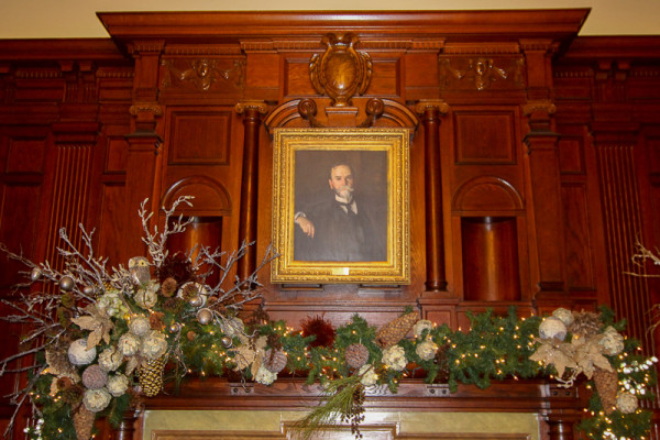 Portrait of John Clay in the Hay Adams room