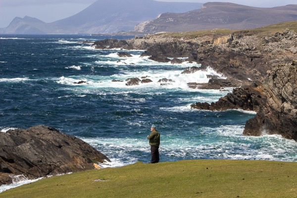 View from the scenic Atlantic Drive on Achill Island