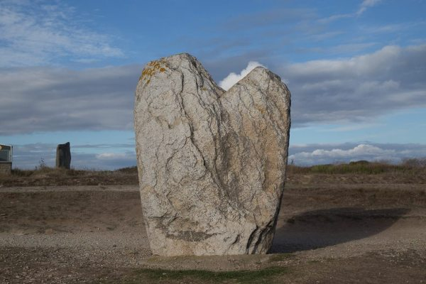 Heart-shaped Standing stone - Brittany