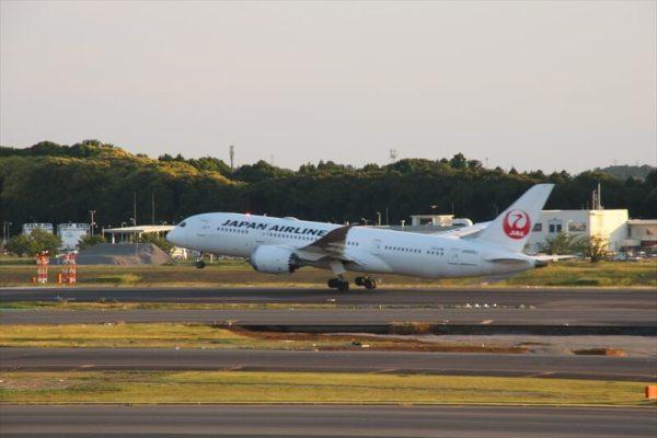 成田空港第1ターミナル5階の展望台より