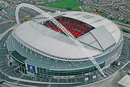 現在のウェンブリースタジアム