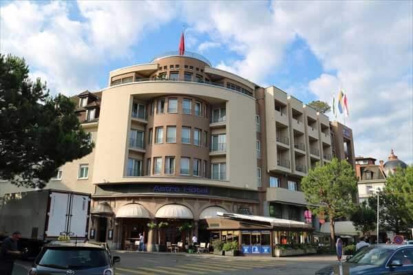 アストラ ヴヴェイ ホテル(Astra Vevey,Montreux)