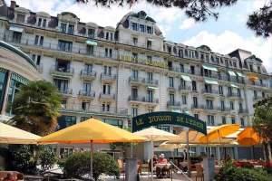 ホテル エデン パレス オー ラック ホテル モントルー(Hotel Eden Palace au Lac,Montreux)
