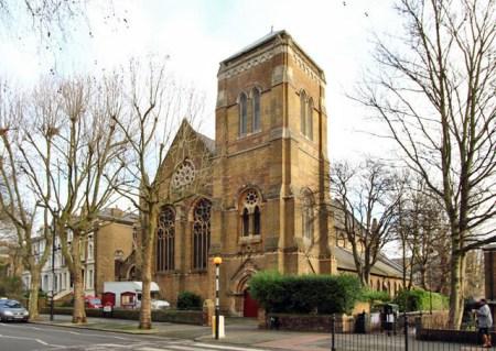 聖アウグスティン教会、ロンドン郊外
