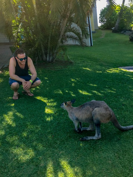 """When I first met D, I thought to myself, """"I wallaby with a girl like her."""""""