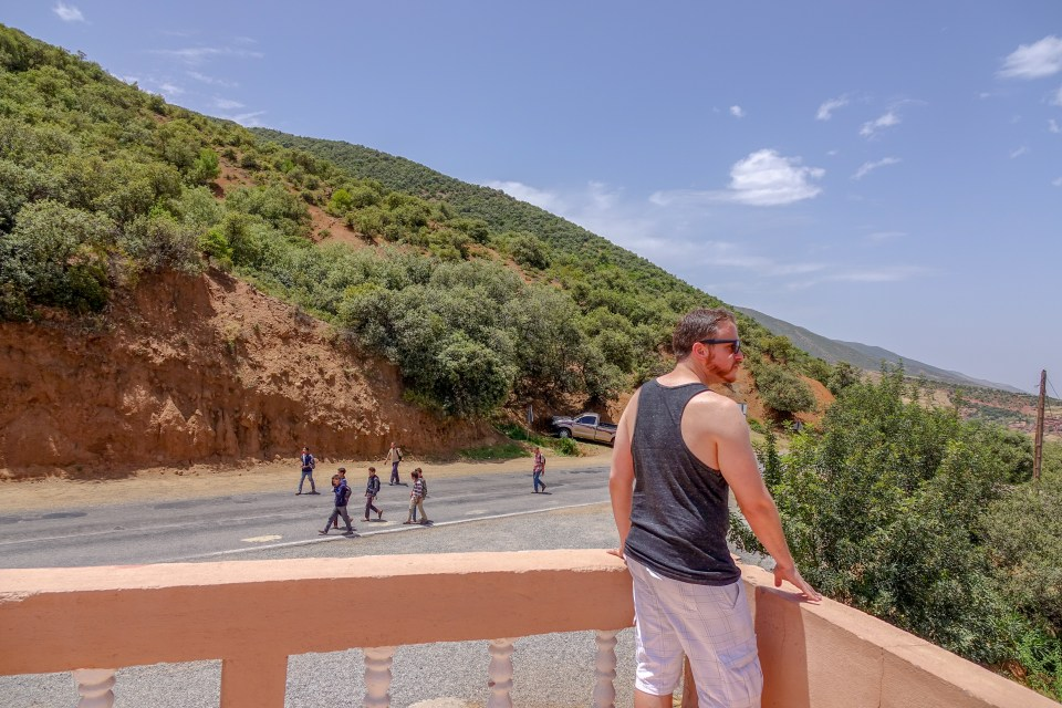High Atlas Mountains, Morocco, Marrakech, Toufliht, Ait Ben Haddou, Good Samaritans