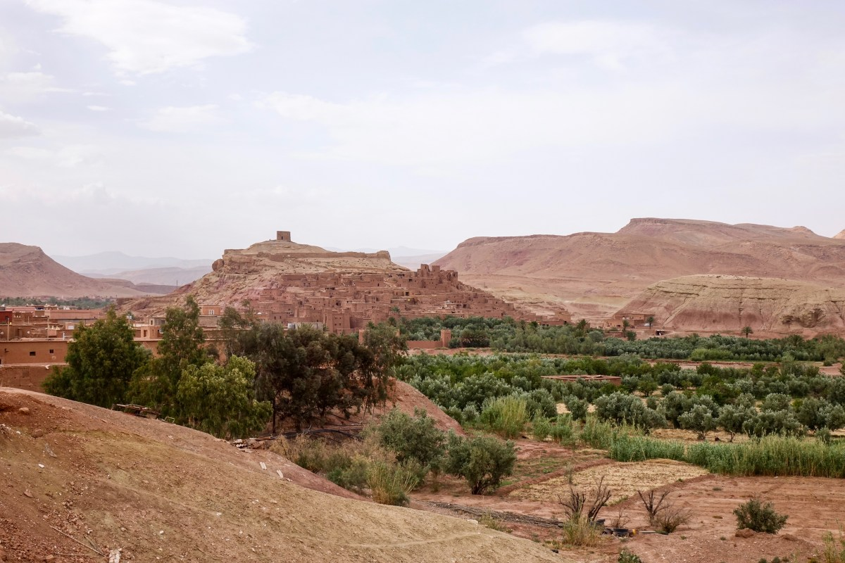 Discover 2 Beautiful Views of Ait Ben Haddou
