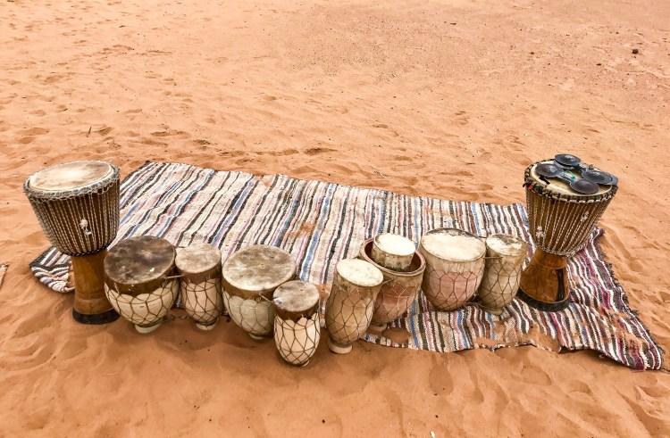 Sahara drum circle