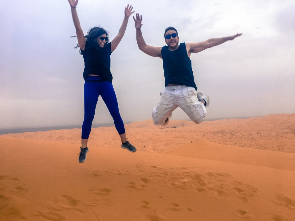 Moroccan desert, dune buggies, Sahara, Morocco, Merzouga