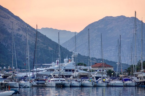 Bay of Kotor, Montenegro.
