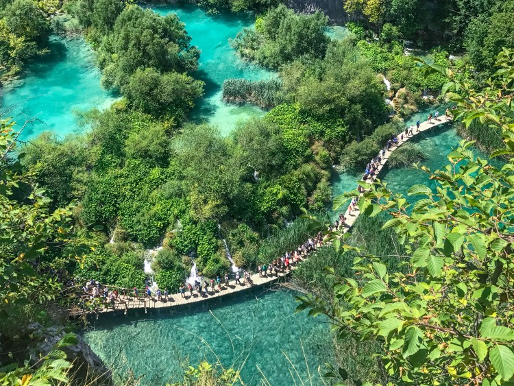 Plitvice Lakes Crowds