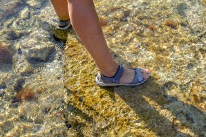 Water shoes: a must for Mljet!