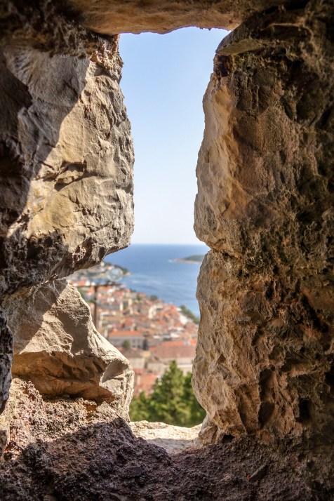At Hvar Fortress...