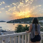 Korcula Croatia - Vela Luka Sunset