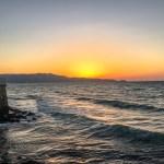 Crete Greece - Heraklion Sunset