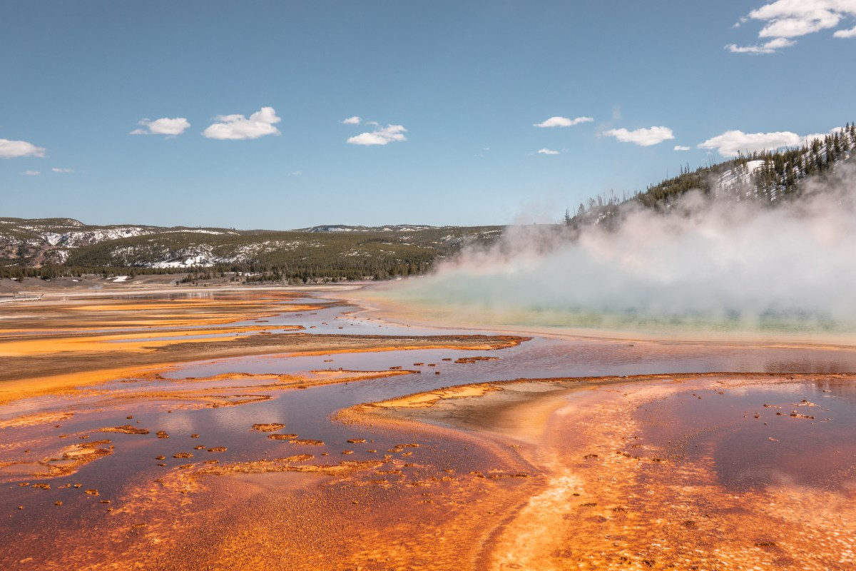 Through the Lens: A Visual Itinerary for Yellowstone in April