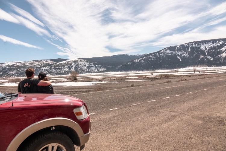 Yellowstone in April