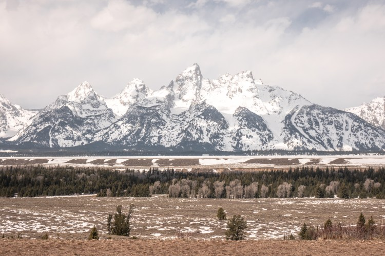 Grand Teton Road Trip - Tetons in the Offseason