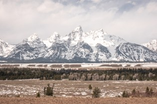 Grand Teton Road Trip - Tetons in the Offseason