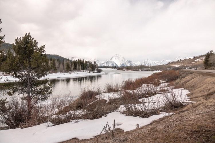Grand Teton Road Trip Oxbow Bend