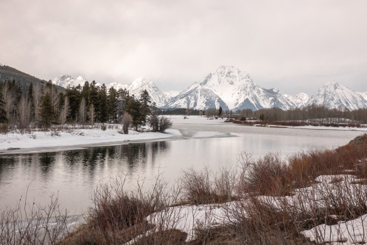 Grand Teton Road Trip Oxbow Bend