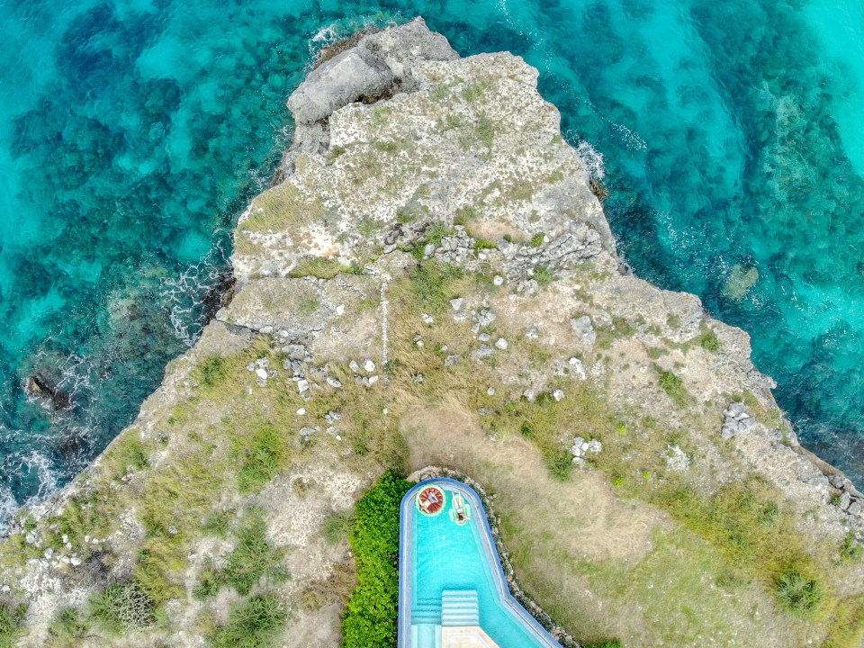 Travel Photography Inspiration: Sabana Westpunt Curacao Drone Shot