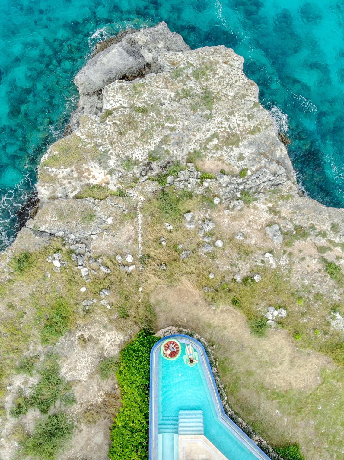 Sabana Westpunt Curacao Drone Shot