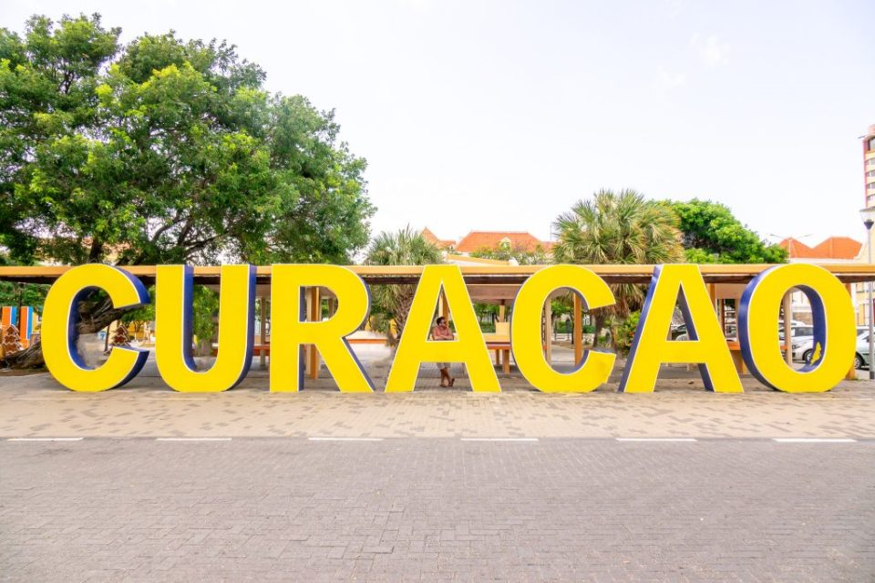CURAÇAO sign - Punda, Curaçao