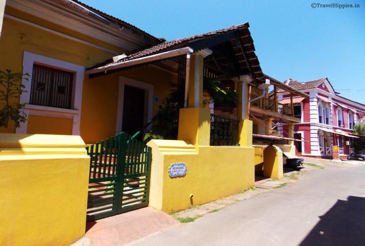 Fontainhas Goa
