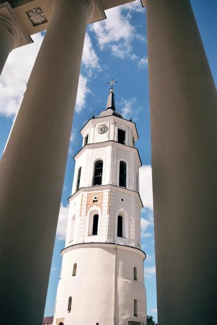 campanile cattedrale vilniu