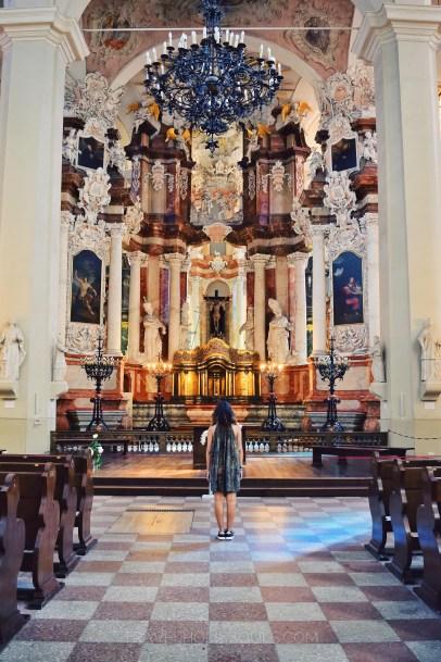Chiesa dei santi giovanni a Vilnius