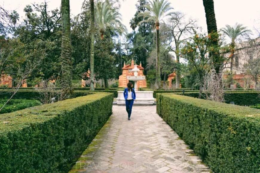 Giardini dell'Alcazar a Siviglia