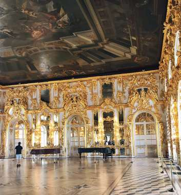 Catherine palace internal