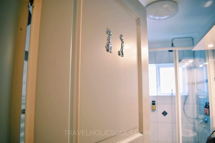 Details bathroom at Freyja