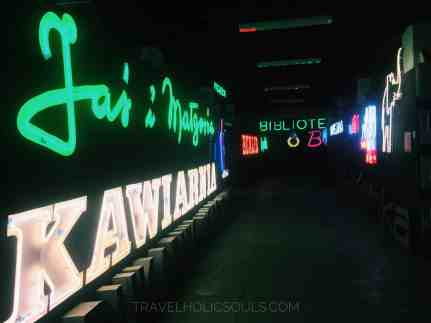 collezione neon varsavia