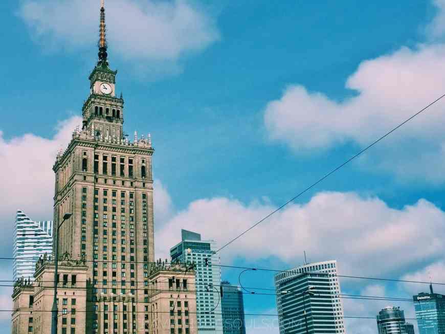 palazzo della cultura varsavia