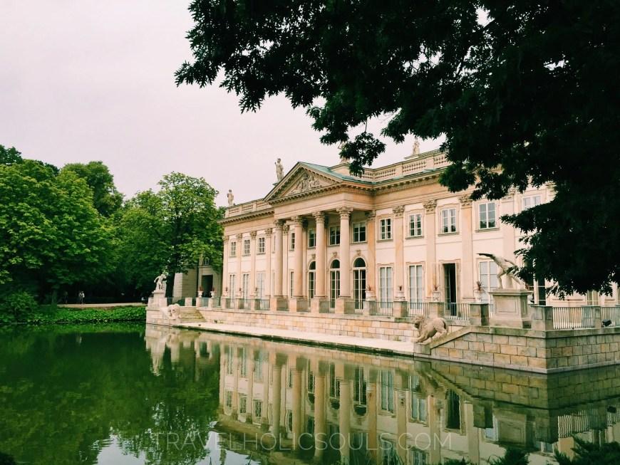 palazzo lazienki polonia