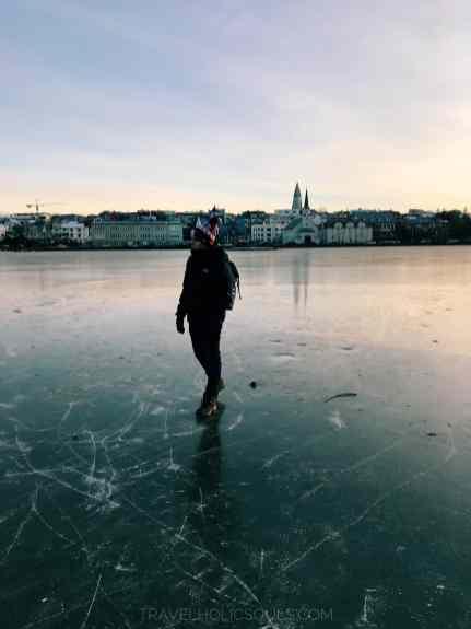 lago ghiacciato Islanda Reykjavik