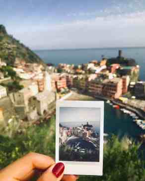 polaroid vernazza