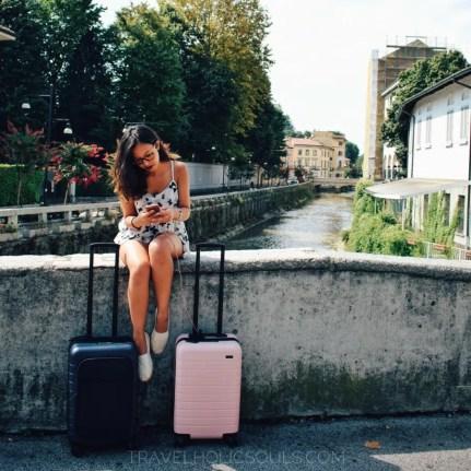 fare la valigia organizzandola in base alla destinazione